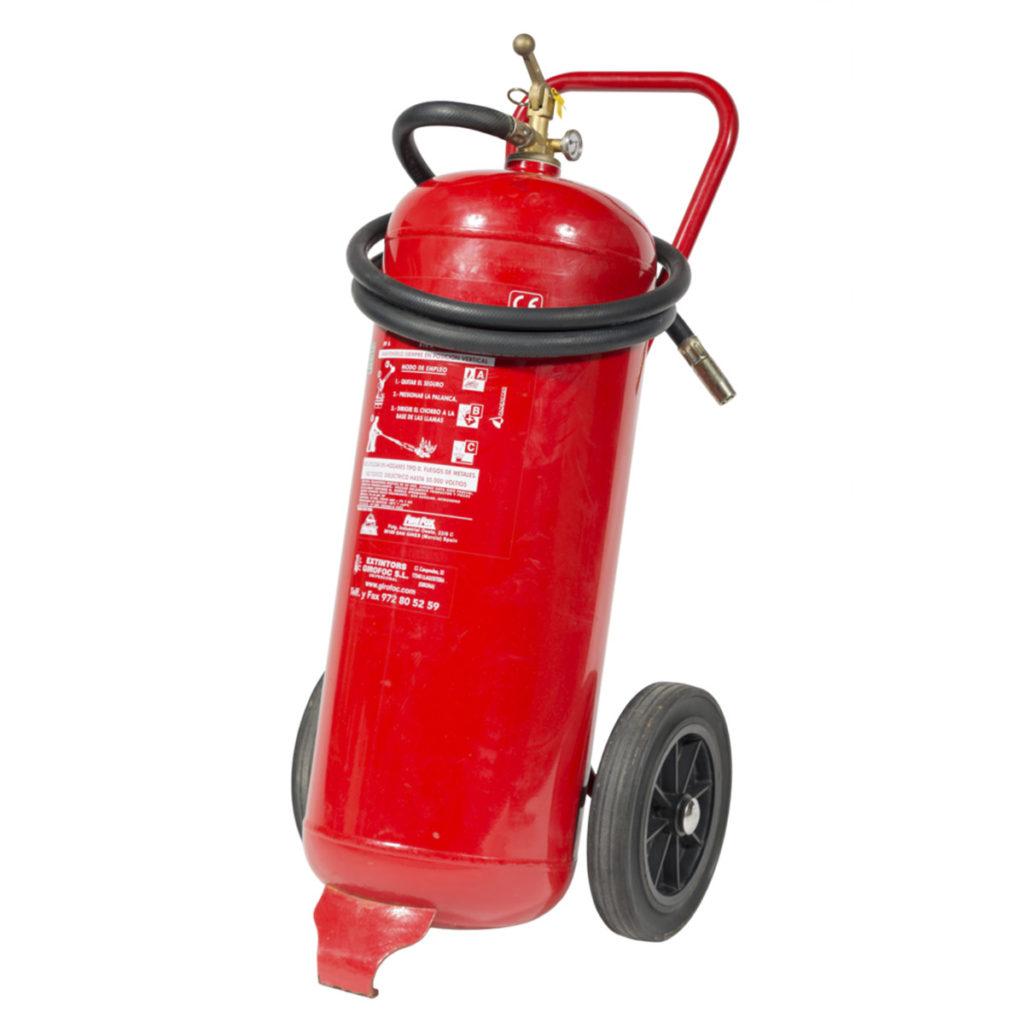 extintor 25kg ABC